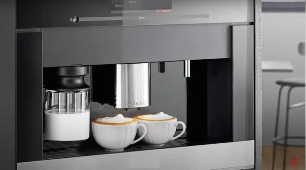 cafeteras para integrar en la cocina