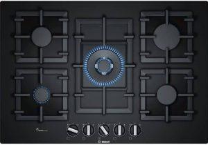 Bosch cristal negro 5 fuegos 75 cm PPQ7A6B90